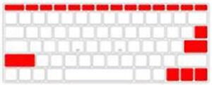 """New TPU Thin Clear KeyBoard Cover Skin For MacBook Air/Pro/Retina11/12/13/15"""""""