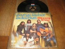 George Baker Selection.A.Sing a song of love.B.I've been away to long.(2409)