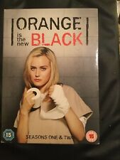 Orange Is the New Black: Season 1 and 2 DVD (2015) Taylor Schilling cert 15