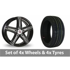 Mini Aluminium Wheels with Tyres