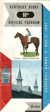 1962 - 88th Kentucky Derby program in Excellent Condition - DECIDEDLY
