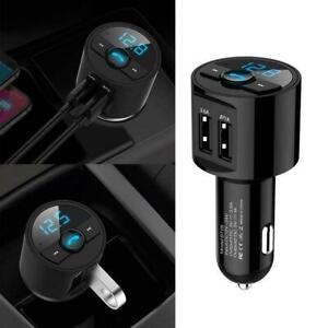Wireless Bluetooth Car FM Transmitter Radio MP3 Player Charger USB