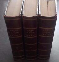 La Condesa De Charny A. Dumas 3 Vol Completo Levy París Buen Estado