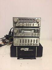 Pioneer KP-404G,GEX-68,CD-5 Sammler Vintage Oldtimer Car  Autoradio Equalizer...