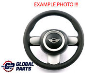 BMW Mini Cooper R50 R52 R53 NEW Black Leather Sport Steering Wheel 6762457