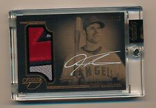 2014 Topps Dynasty * JOSH HAMILTON * On Card Autograph Patch * #8/10