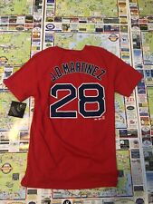 Red Sox J.D. Martinez Youth Medium Red NWT