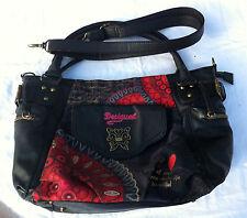 Sac à Main avec anses et Bandoulière DESIGUAL - Bolso - Handbag - VINTAGE -