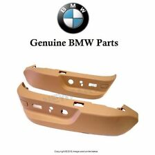 For BMW E38 E39 540i 740i 750i 525i 528i Seat Switch Cover Set Sandbeige Clips