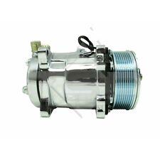 TSP Sanden 508 Style Sliver Clutch Serpentine AC Compressor GM/Chevy/Ford HC5004