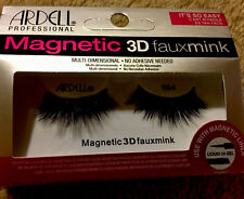 1 Pair Ardell Magnetic 3D Fauxmink eyelashes , 854 ( liner not included) W6