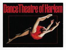 Vintage 1980's Dance Theatre of Harlem Ballet Postcard Advertisement Promotion