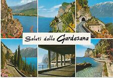 alte AK Lago di Garda Gardasee, Westliche Gardesana - 6 Ansichten