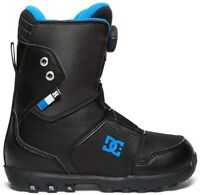 DC Youth Scout Boa Snowboard Boots, UK 4 Black 2018