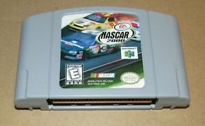 NASCAR 2000 for Nintendo 64 Fast Shipping! Authentic