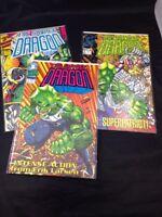 Savage Dragon #1 2 3  Image Comics 1992 VF Erik Larsen