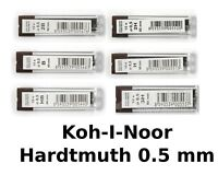 Koh-I-Noor Refill Leads 0.5 mm Various Firmness H 2H 3H B 2B HB