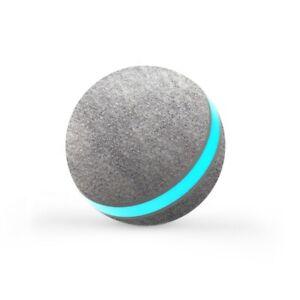 Wicked Ball Interaktives Spielzeug für Hund und Katze mit USB-Aufladung Grau 🐶