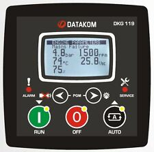 DATAKOM DKG-119 Generator Manual and Remote Start Controller / Panel / Unit