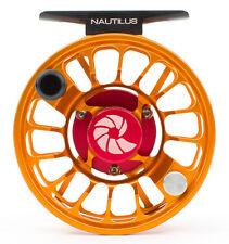 Nautilus X Series XM Reel (4-6 WT) Custom Orange Color - Free US Shipping