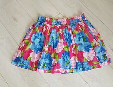 Hollister Beautiful Boho Floral Skirt Size Large -VGood condition!