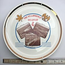 Souvenir Collectible Plate St Lawrence Seaway