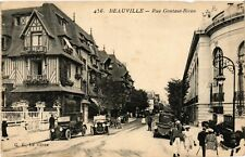 CPA   Deauville - Rue Gontaut-Biron (515658)