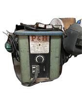 Pamph Limited Welder With Tanks Regulators Cart Welding Helmet Vintage Works