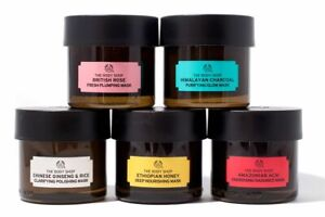 THE BODY SHOP Expert Face Masks 75ml – Himalayan Charcoal, British Rose and more