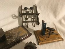 German steam engine tin toy accessories rare 1910s Marklin Bing