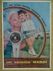 NARDI Volante - +/- 1960 - Italian sales catalogue, folder, prospekte