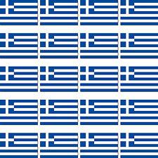 20 Stück Griechenland Länder Fahne Flagge RC Modellbau Mini Sticker Aufkleber
