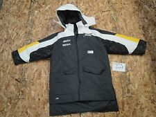 SKI DOO SKIDOO SKI-DOO SNOWMOBILE BLACK WHITE YELLOW SNOW COAT 469179 #2