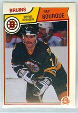 RAY BOURQUE 1983-84 O-Pee-Chee OPC '83 Hockey Card #45 NMM NHL Boston Bruins