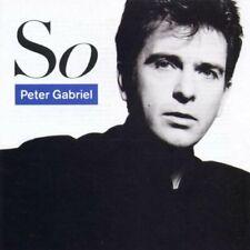 Peter Gabriel - So - U.K. CD album 1986