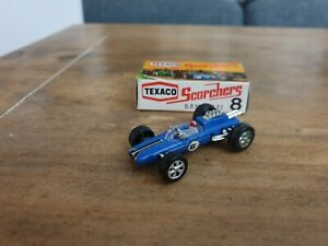 VERY RARE Zylmex Texaco Scorchers No 6 Lotus Climax F1 MIB from 1970