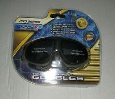 New listing Dolfino Pro Series Premier Dive Gear Adult Water Sport Goggles Black Skiing New