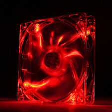 [Thermaltake] Pure 12 LED DC Fan-Red Cooling Case Fan,120mm,3pin,1000RPM,Sleeve