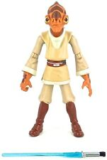 Star Wars: The Clone Wars 2009 Hasbro Exclusive NAHDAR VEBB (JEDI KNIGHT) Loose