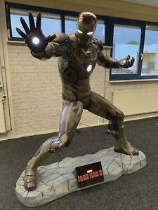 Iron Man 3 179 cm battle Version life size figure Marvel Avengers licensed figur