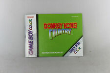 Donkey Kong Country Manual (GBC, Manual Only, ***NO GAME***)