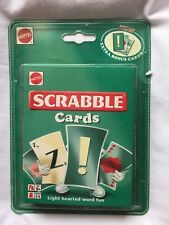 Mattel Scrabble Cards - New, sealed