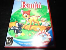 Disney sleeping bambi  read along  cd and book