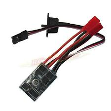RC 10A ESC Brushed Speed Controller for 1/16 18 24 Car Boat Tank w/o Brake