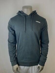 Adidas Mens Essentials 3-Stripes Hoodie - Black / White - [DU0498]