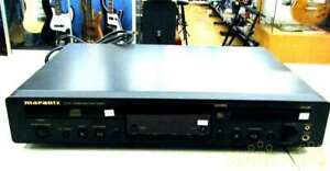 Marantz CD MD Player CM6001 operation confirmed USED japan first shipping