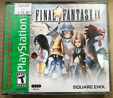 Final Fantasy IX Greatest Hits NTSC ONLY  (Sony Playstation 1, 2000)