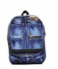 Denim Outer Handbags Backpacks with Adjustable Strap