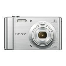 Sony DSC-W800 Digital Compact Camera 20.1 MP, 5x Zoom, 2.7 LCD G Lens - Silver