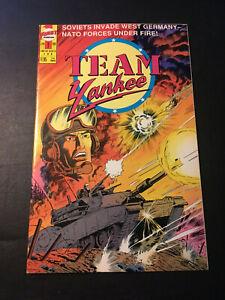 TEAM YANKEE #1 1989 FIRST COMICS VF+